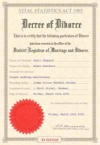 Official Divorce Certificate Translation Service Guarantee