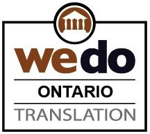 Document translation services Ontario