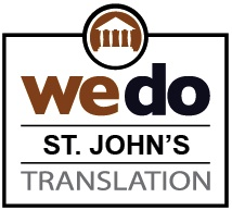 Document translation services St. John's NF