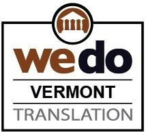 Legal Document translation services Vermont